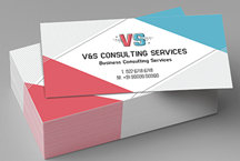 Visiting card design business card online visiting cards maker classic pearl white matte reheart Gallery