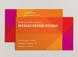 Visiting card design business card online visiting cards maker add vibrant colours to business cards vistaprint reheart Gallery