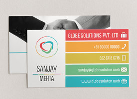 Visiting card design business card online visiting cards maker three visiting card must haves reheart Gallery