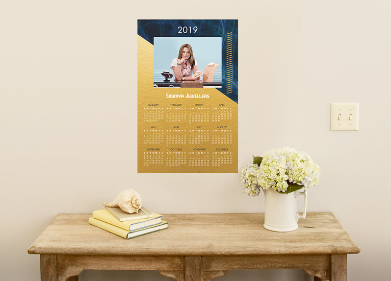 Photo poster calendars