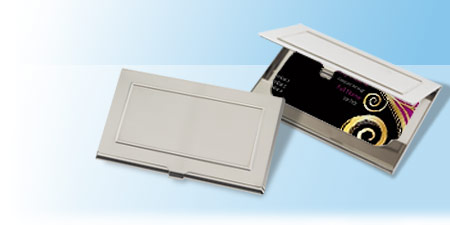 Business card holders engraved business card holders vistaprint metal visiting card holders reheart Choice Image