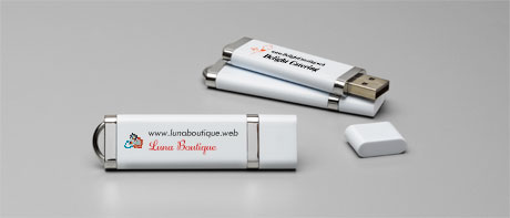 Personalised USB sticks