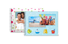 13 x 18 cm Collage Photo Flip Books
